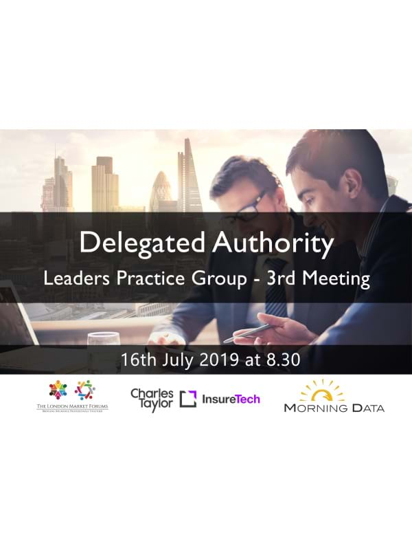 Delegated Authority Leaders Practice Group